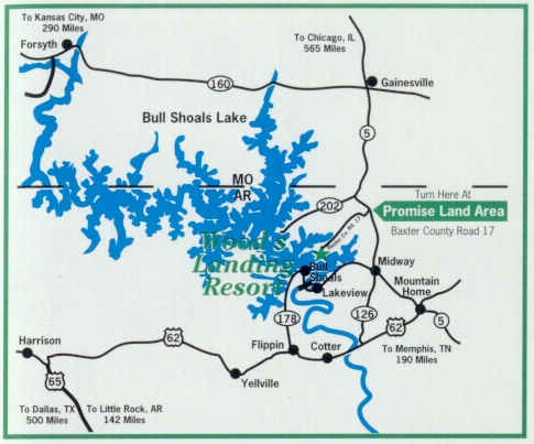 WOOD\'s LANDING RESORT @ BULL SHOALS LAKE